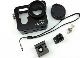 GoPro hero 3+/4 housing, case, hliník